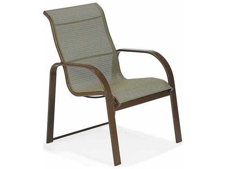Winston Seagrove II Sling Aluminum High Back Dining Chair PatioLiving