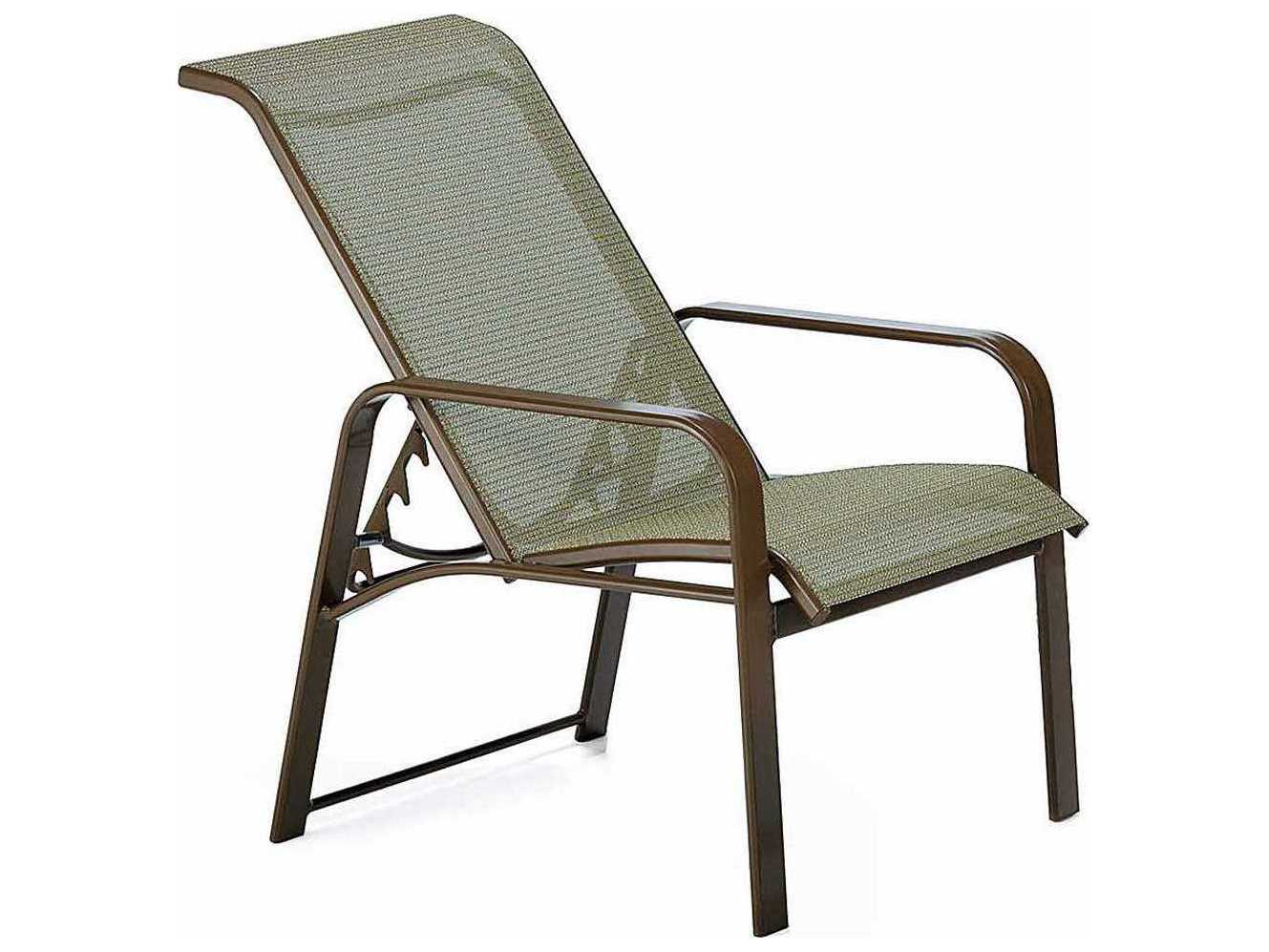 Winston Seagrove Ii Sling Aluminum Adjustable Chair Wsm62017