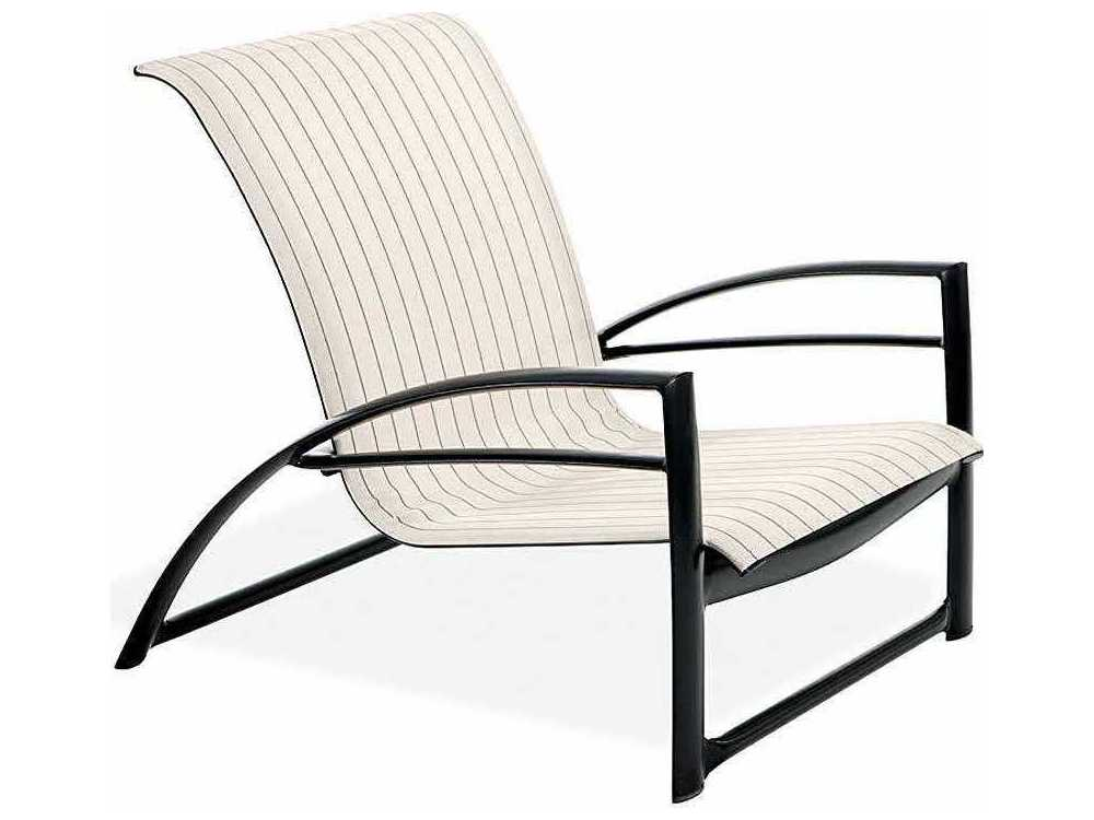 Winston Southern Cay Sling Aluminum Armless Chaise Lounge: Winston Southern Cay Sling Aluminum Arm Nesting Lounge
