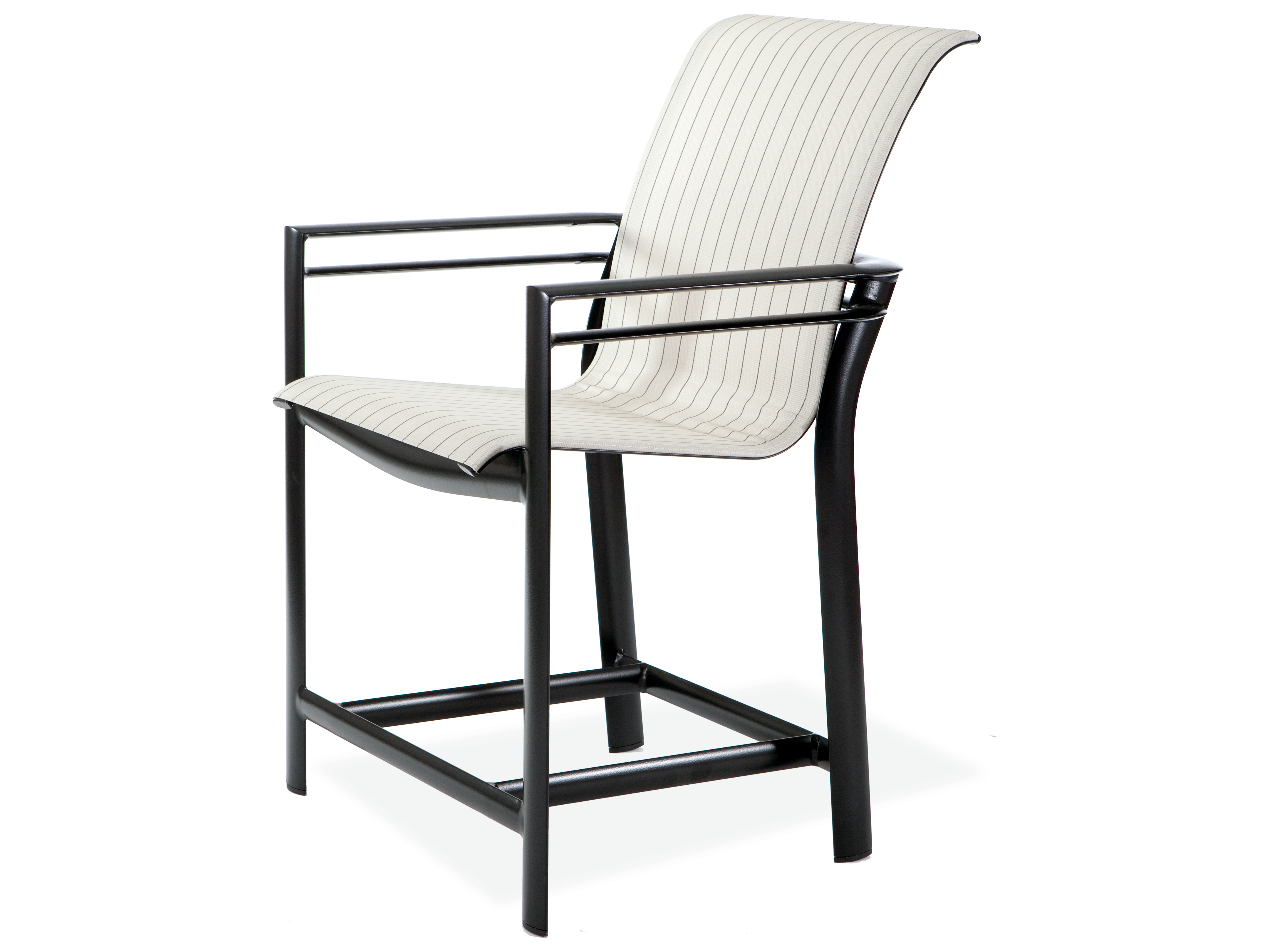 Winston Southern Cay Sling Aluminum Armless Chaise Lounge: Winston Southern Cay Sling Aluminum Arm Counter Stool