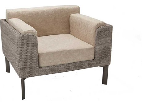 Winston Banyan Bay Modular Wicker Arm Lounge Chair