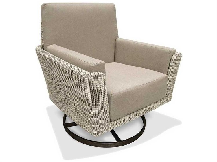 Winston Banyan Bay Cushion Wicker Action Swivel Tilt Lounge Chair