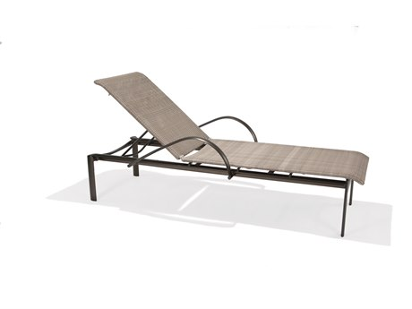 Winston Southern Cay Woven Aluminum Stackable Chaise Lounge
