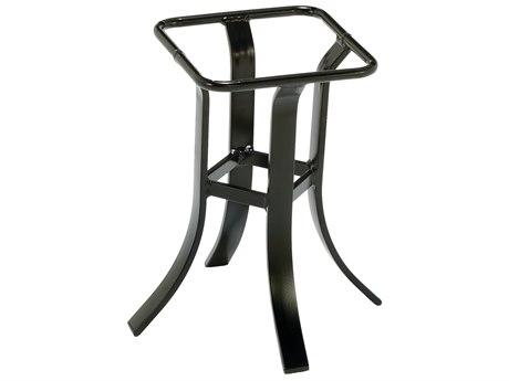 Winston Alternative Table Cast Aluminum Round Lamp Table Height Base
