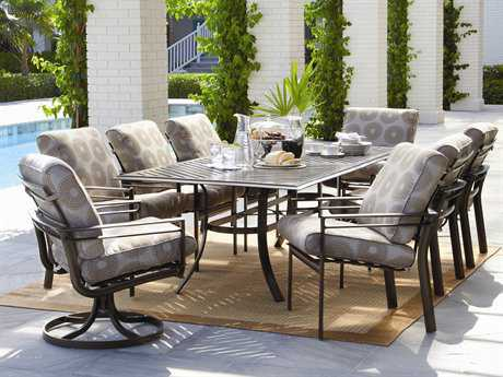 Winston Southern Cay Cushion Aluminum Dining Set