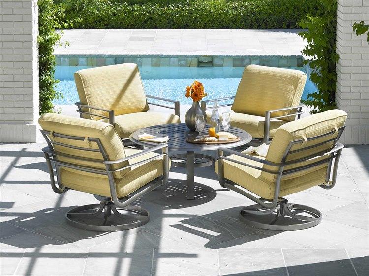 winston southern cay cushion aluminum lounge set sccal1. Black Bedroom Furniture Sets. Home Design Ideas