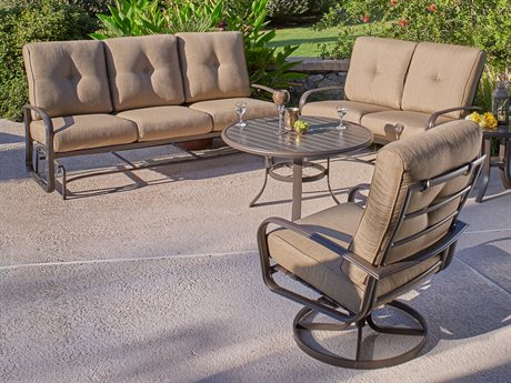 Winston Savoy Cushion Quick Ship Aluminum Lounge Set