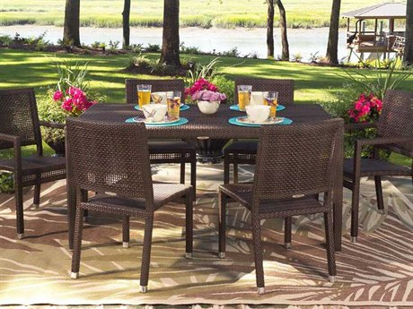 Whitecraft All Weather Wicker Dining Set