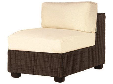 Whitecraft Montecito Wicker Modular Lounge Chair
