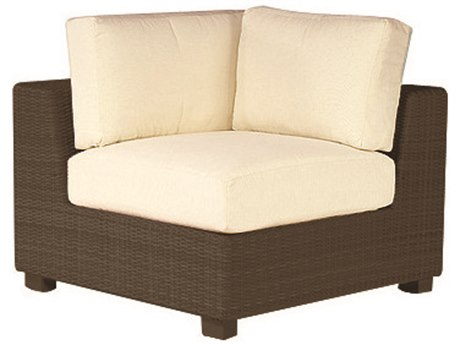 Whitecraft Montecito Wicker Corner Lounge Chair