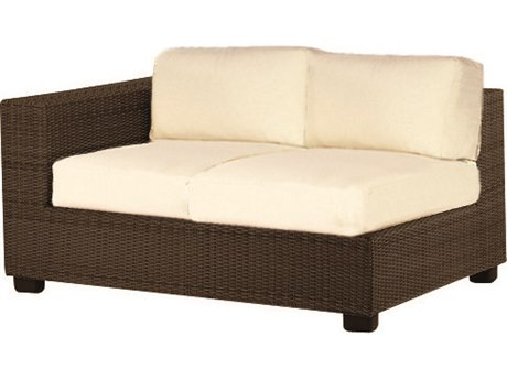 Whitecraft Montecito Wicker Left Loveseat