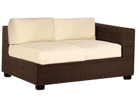 Whitecraft Montecito Wicker Right Loveseat
