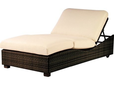Whitecraft Montecito Wicker Chaise Lounge PatioLiving