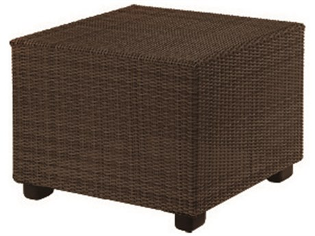 Whitecraft Montecito Wicker 28 Square End Table