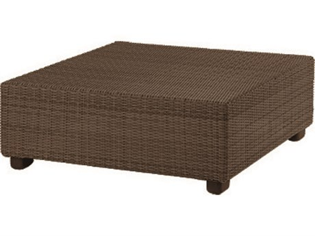 Whitecraft Montecito Wicker 40 Square Coffee Table