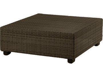 Whitecraft Montecito Wicker 40 Square Coffee Table S511211