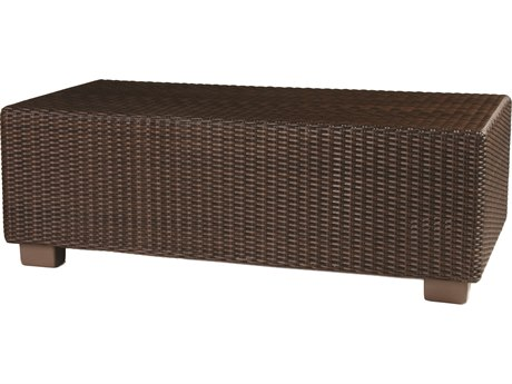 Whitecraft Montecito Wicker 42 x 24 Rectangular Coffee Table