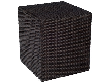 Whitecraft Montecito Wicker 18 Square Bunching Table