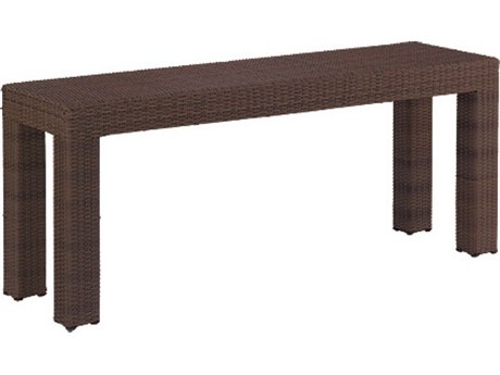 Whitecraft Montecito Wicker 60 x 18 Rectangular Console Table