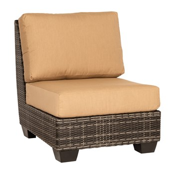 Whitecraft Saddleback Wicker Modular Lounge Chair