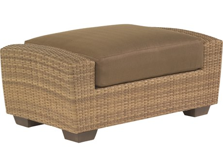 Whitecraft Saddleback Wicker Ottoman