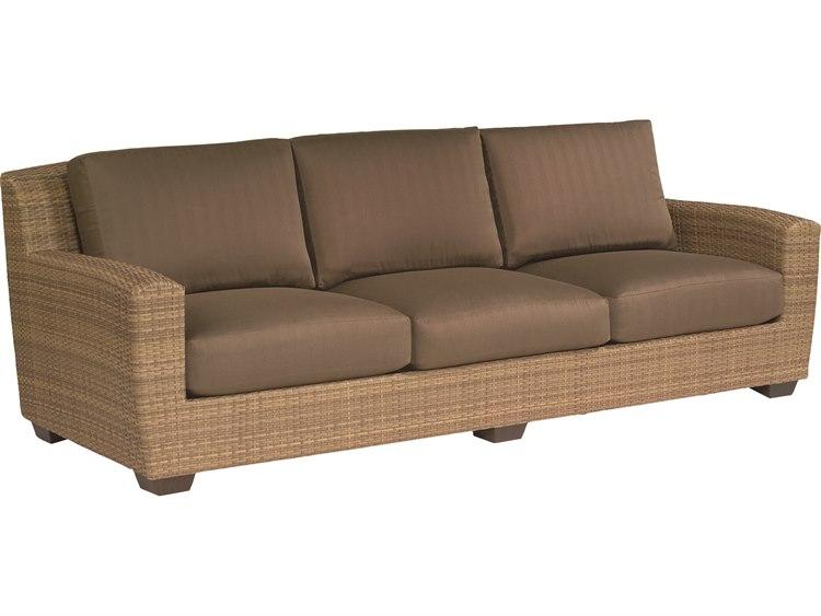 Whitecraft Saddleback Wicker Sofa