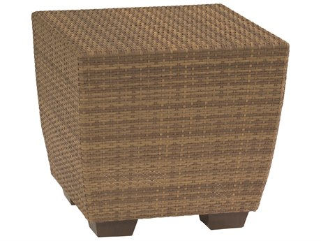 Whitecraft Saddleback Wicker 24 Square End Table PatioLiving