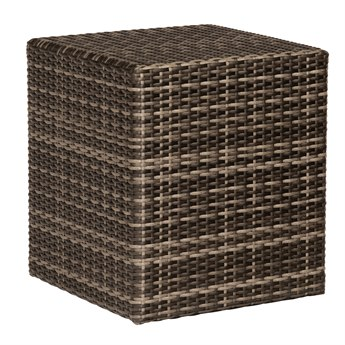 Whitecraft Saddleback Wicker 42 Square Coffee Table