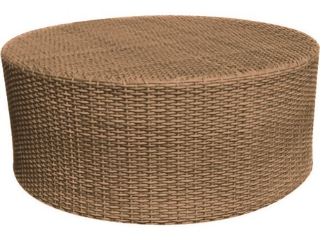 round outdoor coffee table.  Table Whitecraft Saddleback Wicker 36 Round Coffee Table Intended Outdoor A