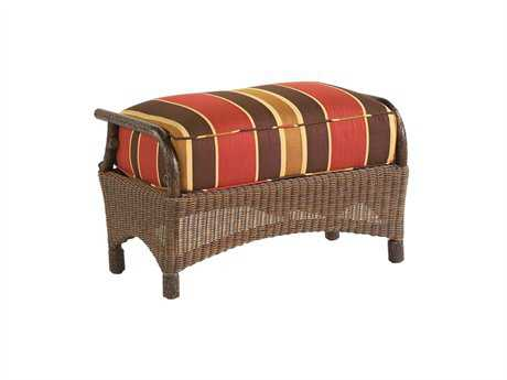 Whitecraft Chatham Run Wicker Ottoman