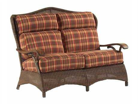 Whitecraft Chatham Run Wicker Loveseat