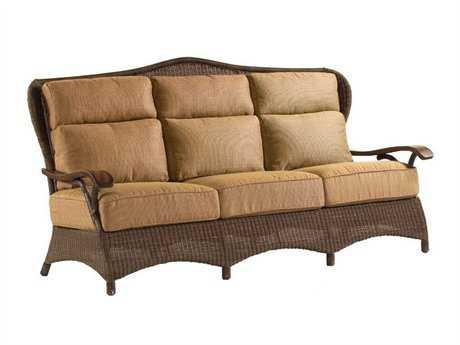 Whitecraft Chatham Run Wicker Sofa