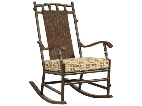 Whitecraft Chatham Run Wicker Rocker Lounge Chair