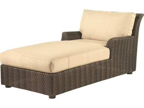 Whitecraft Aruba Wicker Chaise Lounge