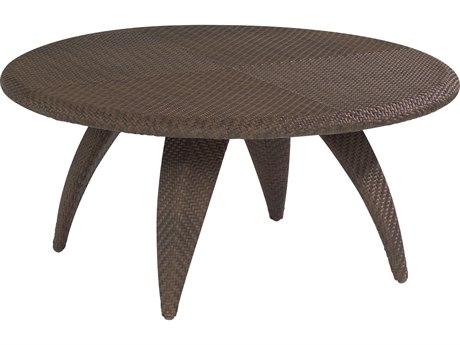 Whitecraft Bali Wicker 40 Round Woven Top Coffee Table