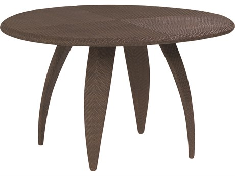 Whitecraft Bali Wicker 48 Round Woven Top Dining Table