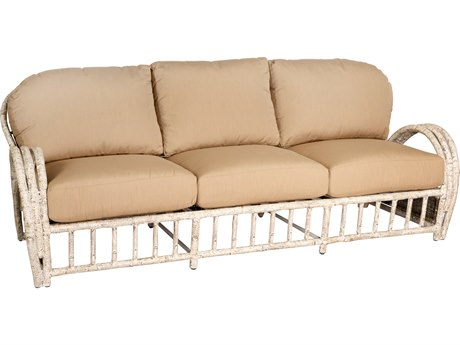 Whitecraft River Run Wicker Sofa