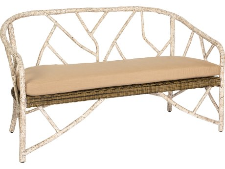 Whitecraft River Run Wicker Loveseat
