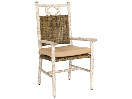 Whitecraft River Run Wicker Dining Chair