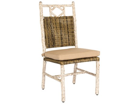 Whitecraft River Run Wicker Dining Chair PatioLiving
