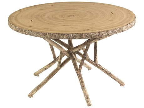 Whitecraft River Run Birch Heartwood 48 Round Dining Table