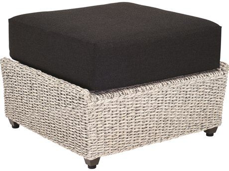 Whitecraft Isabella Wicker Ottoman