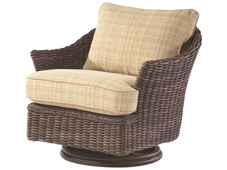 Whitecraft Sonoma Wicker Swivel Lounge Chair