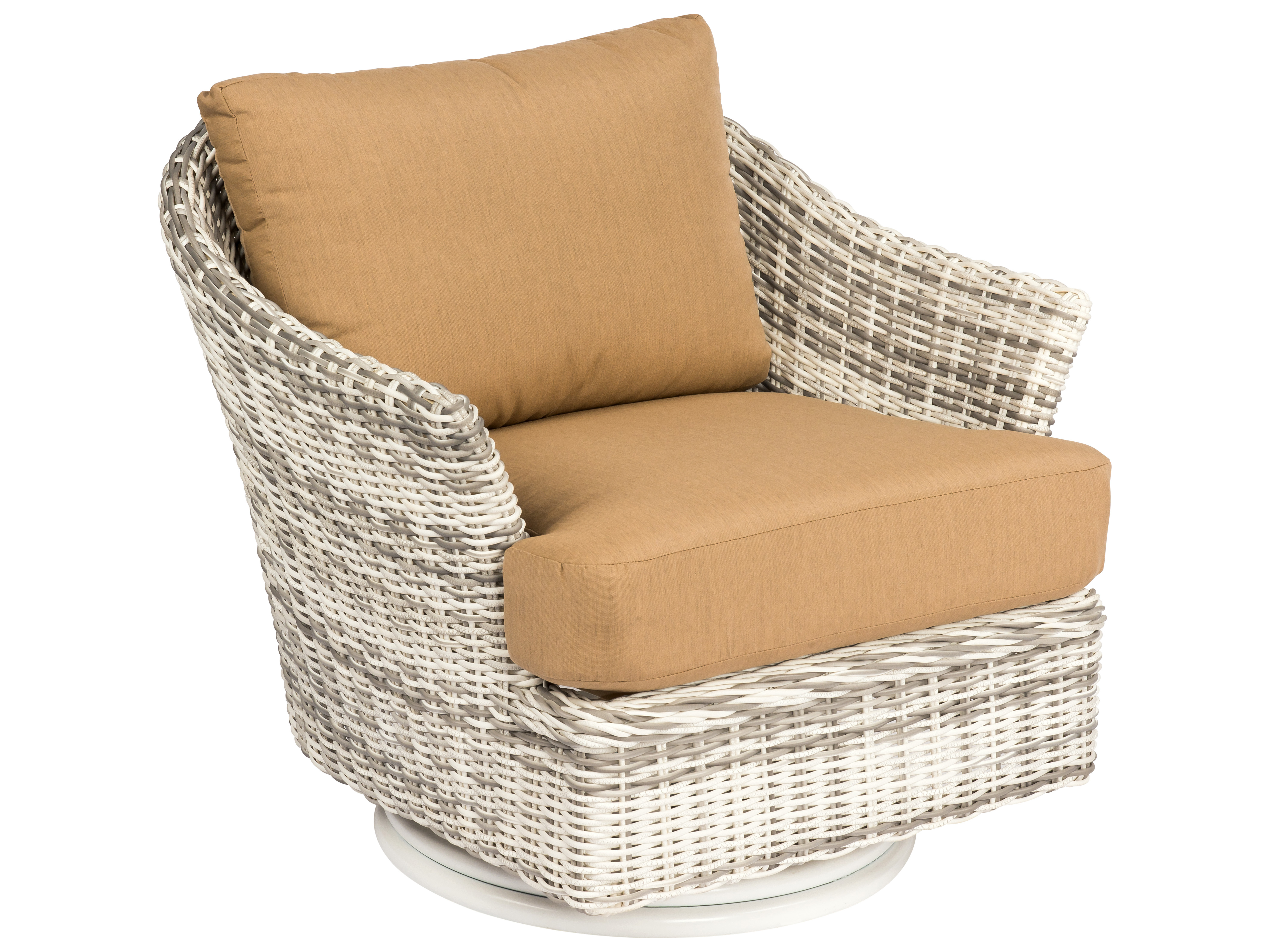 Whitecraft Sonoma Wicker Swivel Lounge Chair Wts561015