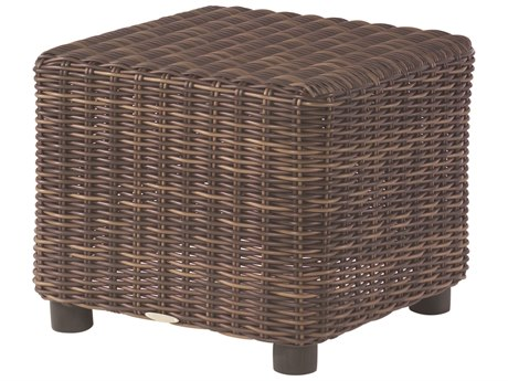 Whitecraft Sonoma Wicker 24 Square End Table PatioLiving