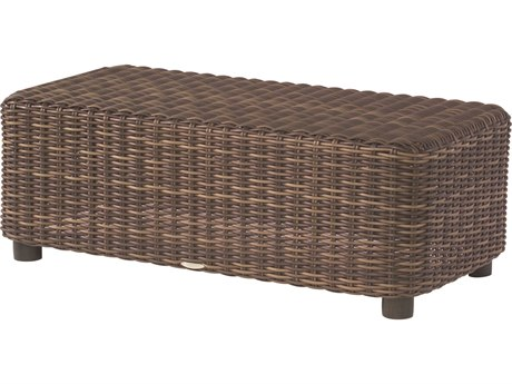 Whitecraft Sonoma Wicker 48 x 24 Rectangular Coffee Table