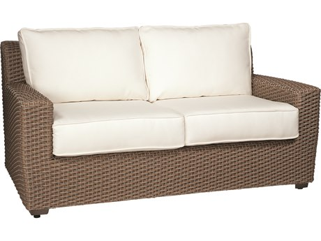 Whitecraft Augusta Wicker Loveseat