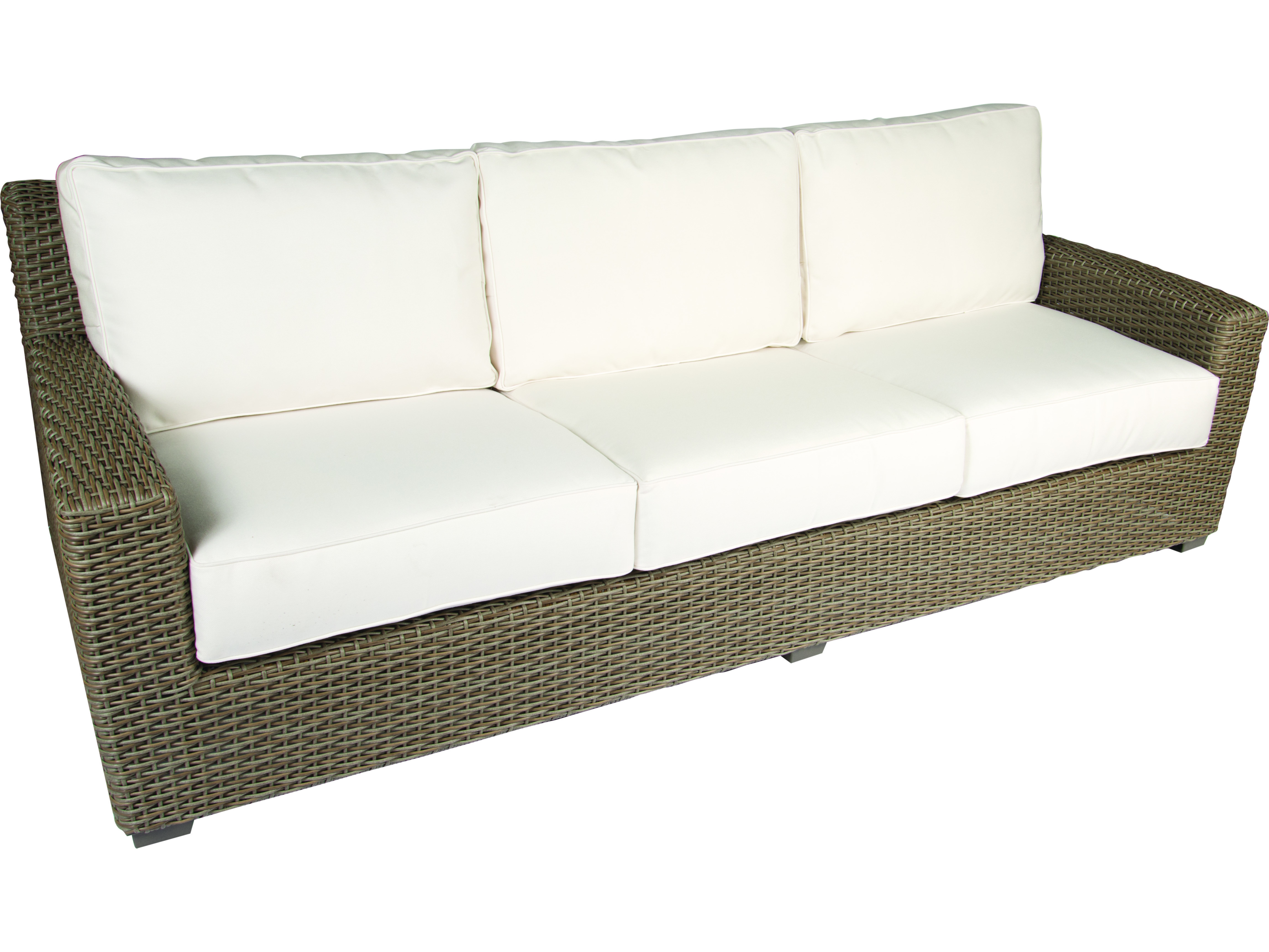 Whitecraft Augusta Wicker Cushion Sofa S592031