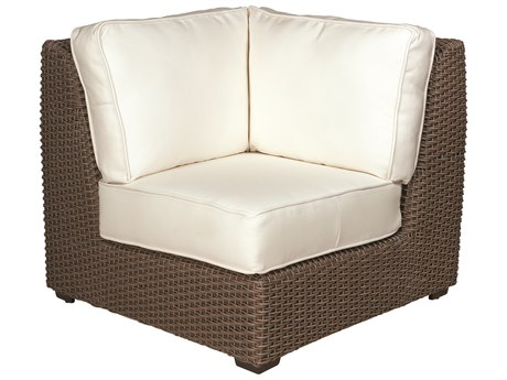 Whitecraft Augusta Wicker Corner Sectional