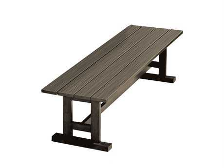 Whitecraft Augusta Aluminum Woodlands Dining Bench